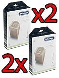 2x DELONGHI DLS36 16 Sacchi Colombina ORIGINALI XLF1300 XLD13 XL130 5519210151