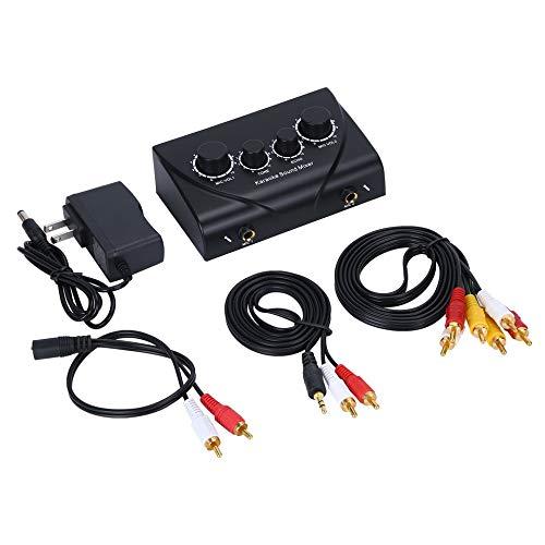 HermosaUKnight Karaoke Sound Mixer Professional Audio System Machine Portable Mini Digital (Machine Professional Sound)