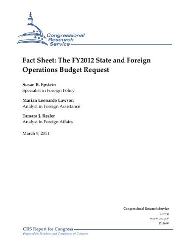 Fact Sheet: The FY2012 State and Foreign Operations Budget Request