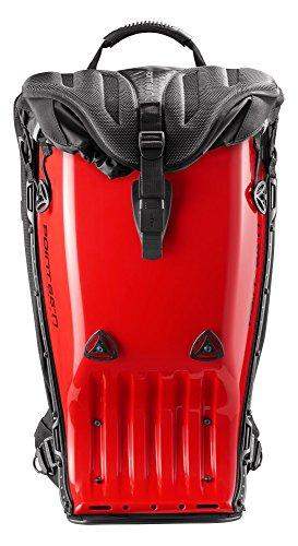 Boblbee GT Sac à dos protection dorsale Rouge Diablo 20 L