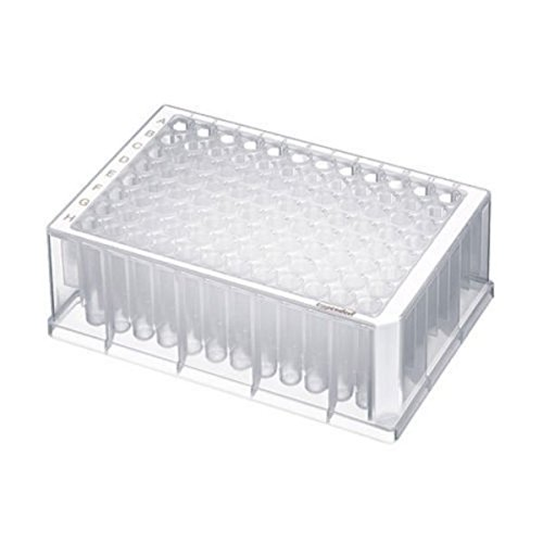 Eppendorf 0030501209 Deepwell Plate, Wells Klar, PCR Clean, 96/1000 µL, Rand Weiß (20-er Pack)