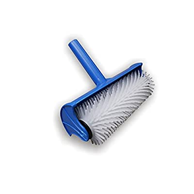 """Spiked Flooring Aeration Roller & Splash Guard Cover 250mm (10""""), Spikes 20mm (1697)"""