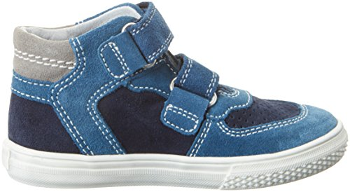 Richter Kinderschuhe Mose, Sneakers basses garçon Blau (pacific/atlanti/rock)