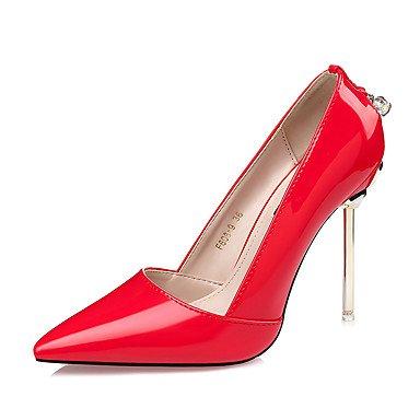 RTRY Donna Comfort Tacchi Cadono Dress Rhinestone Stiletto Heel Luce Rosa Viola Rubino Nero 4 In-4 3/4In US7.5 / EU38 / UK5.5 / CN38