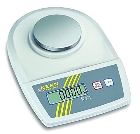 KERN EMB 100-3 Balance de laboratoire haute précision 100g x 0.001g