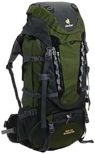 Deuter 33827 Sac à dos de trekking Aircontact PRO 60 + 15 84 x 36 x 28 cm (Vert sapin/anthracite)