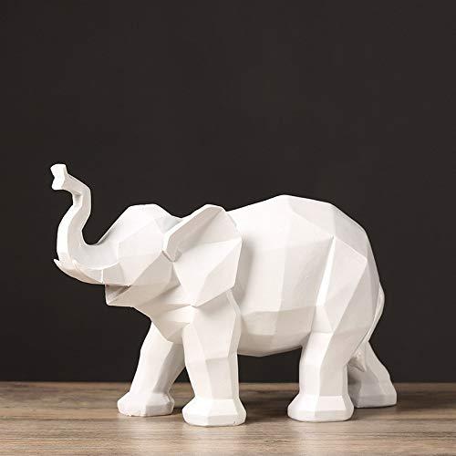 tobbrt Keramik Dekoration Nordic Abstract Origami Geometrie Kleine Elefanten Möbel Home Weinschrank Bücherregal Modell Zimmer Rack Soft Ornament Display