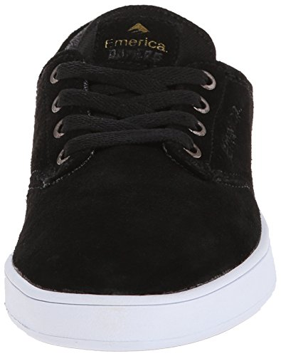 Emerica The Romero Laced, Chaussures de skateboard homme Black White