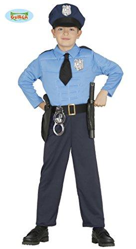 KINDERKOSTÜM - POLIZIST - Größe 95-100 cm ( 3-4 Jahre ), US Polizei Uniformen Beamter Bulle Cop Policia (Cop Für Halloween Kostüme Kleinkinder)