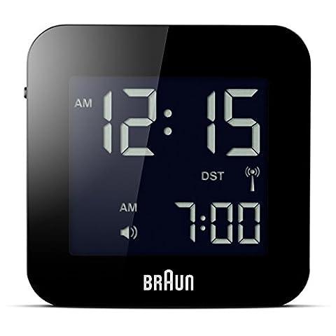 Braun BNC008BK-RC Digital-Reisewecker,