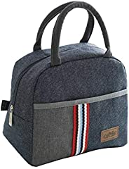 Insulated Travel Picnic Lunch Bag Cooler Tote Bags For Women Men Kids