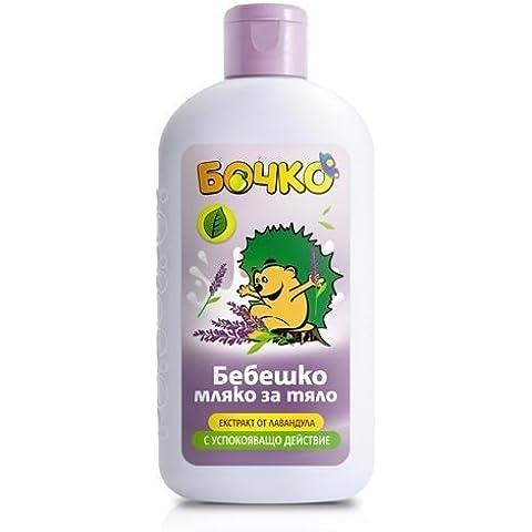 bochko Baby bodylotion con extracto de lavanda–parabenos 200ml