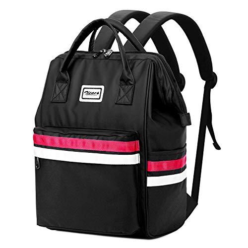 Zicac zaini zaino casual, backpack zaino donna uomo scuola zaino unisex elegante zaino sportivo fitness viaggio borsa zainetto da viaggio per tablet ipad porta pc