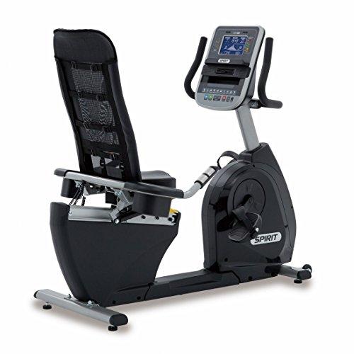 Spirit Fitness Bike XBR 95 - Heimtrainer, Sitz-Ergometer, 12 Programme, 13,5kg Schwungrad, 7,5`` LCD