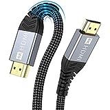 ONIOU - Cavo HDMI 2.0 4K da 60Hz, 18Gbps, compatibile con HD 1080P, HDR, con Ethernet ad alta velocità, ARC, PS3/PS4, Xbox On