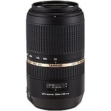 Tamron A005S SP 70-300 mm F/4-5.6 Di USD (XLD) - Objetivo (distancia focal 70-300mm, apertura f/4-5,6, zoom óptico 4x, macro, diámetro: 62mm) negro