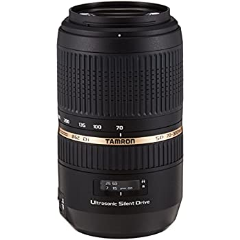 Tamron A005S SP 70-300 mm F/4-5.6 Di USD (XLD) - Objetivo para Sony/Minolta (distancia focal 70-300mm, apertura f/4-5,6, zoom óptico 4x, macro, diámetro: 62mm) negro