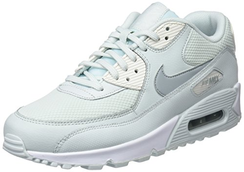 Nike Air Max 90, Scarpe da Ginnastica Donna, Nero (Barely Grey/Light Pumice/Sail 053), 38 EU