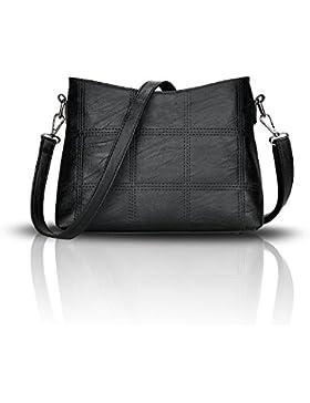 Tisdaini Damenhandtaschen neue modische handtasche trendy weiche tasche splei?en schulter umh?ngetasche