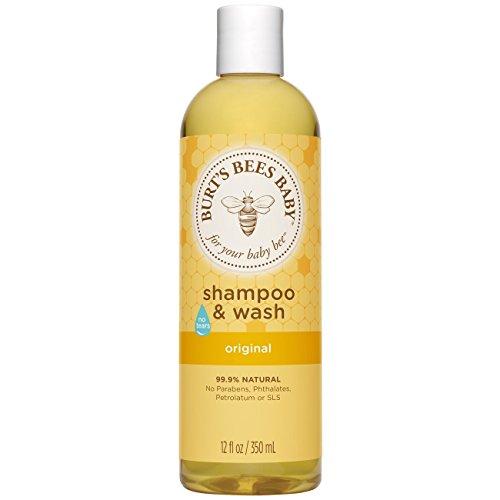 Burts Bees Baby Bee Tear Free Shampoo & Wash, 8 Ounce by Burt's Bees