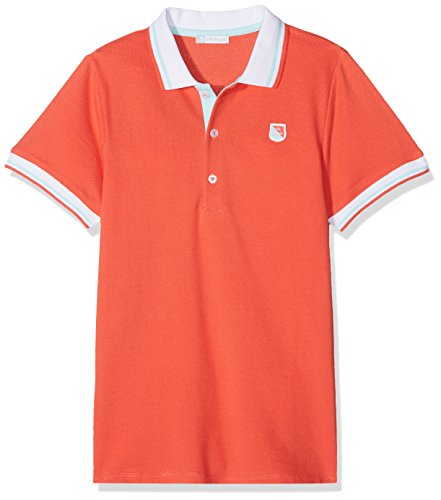 TUTTO PICCOLO Jungen Poloshirt 4876S18, Rot (Coral R01), 5 Jahre Tutto Piccolo