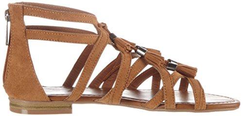 Fritzi aus Preussen Damen Sandals 06 Offene Braun (Nut)