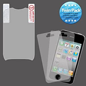 MYBAT LG800GLCDSCPRTW LCD Screen Protector for LG: 800G (Cookie Style) - Retail Packaging - Twin Pack