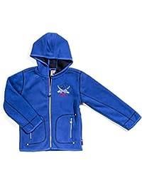 Salt & Pepper Jungen Fleece Jacke Capt'n Sharky 4551871 in blau (475 steel blue), Kleidergröße:92;Farbe:blau (475 steel blue)