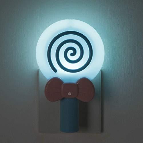 Light Nachtlicht Custom Logo Praktische Plug In Blue Night Light 145 * 90 * 55Mm ()