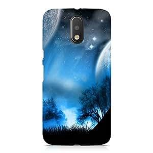 Hamee Designer Printed Hard Back Case Cover for Motorola Moto G4 Plus Design 5200