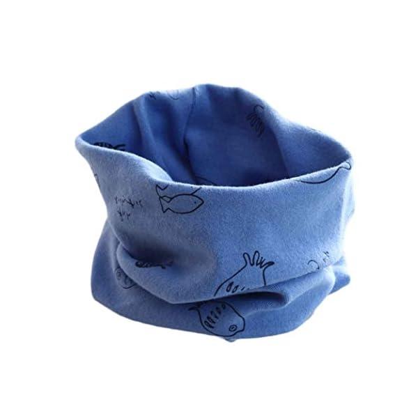 RETUROM Bebé pañuelos de cuello, cuello del algodón del bebé unisex de la bufanda del ringneck pájaro del invierno del… 1