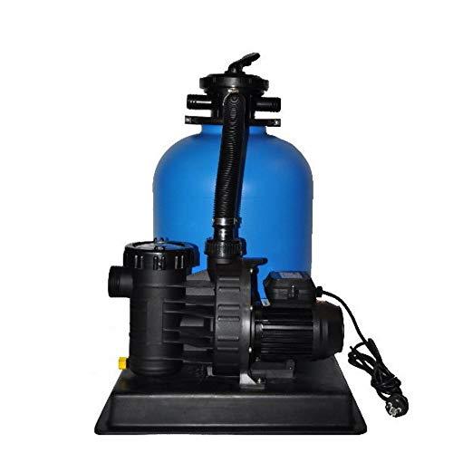 Sandfilteranlage PoolsBest BL Ø 400mm mit Aqua Plus 8 m³/h