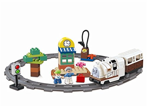 Kidoloop-Train-Track-48-Pcs-Set-With-Figures-Props-Battery-Operated-Train