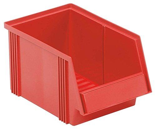 Treston 1930-5 Lagerkästen, 186 mm Breite x 300 mm Länge x 156 mm Höhe, 6.5 L, Rot