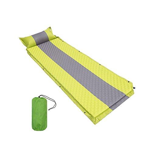 Tragbare Picknickdecke Familie Selbstaufblasende Isomatte Leichtgewichtler-Kompaktschaum-Polsterung Wasserdichtes aufblasbares Mat-Bestes für Wandern Backpacking-Thick 3 Cm für bequeme Schlaf-Isoliert