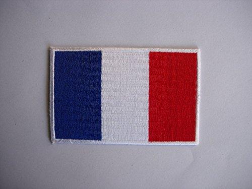 Patches-Frankreich Flag-Flagge Französisch-Flag Patches-Countries-Vest-Iron Man Patch-Wandleuchte Embroidery Wappen bestickt kostüm cadeau- Give Away -