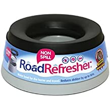 Road Refresher Non Spill Water Bowl Large Grey
