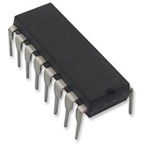 (2) MCP3008de I/P Micro chips, a/d de corriente, de serie, 10bit, 8canales, interfaz SPI DIP16