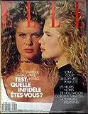 ELLE [No 2221] du 01/08/1988 - COIFFURES POUR L'ETE - DOROTHY STRATTEN ASSASSINEE - TEST.