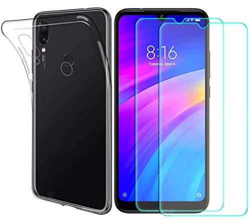 MYLBOO Huawei Y6 2019/Honor 8A Funda Protector Pantalla,[3