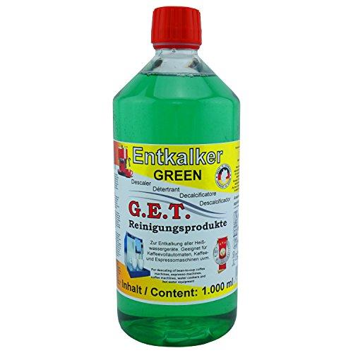 GET Spezial Entkalker Lime-X green 1000ml für Kaffeevollautomaten und Espressomaschinen