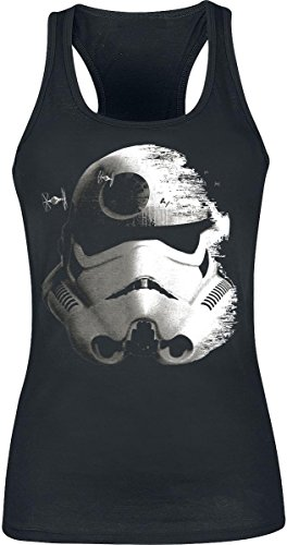 Star Wars Stormtrooper - Deathstar Top Femme noir Noir