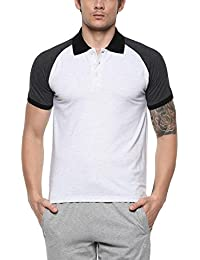[Sponsored]AMERICAN CREW Men's Color Block Polo T Shirt