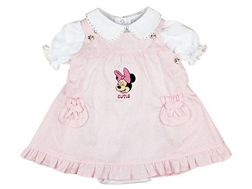 Disney - Minnie Mouse Baby LATZKLEID-Set mit festlichem -