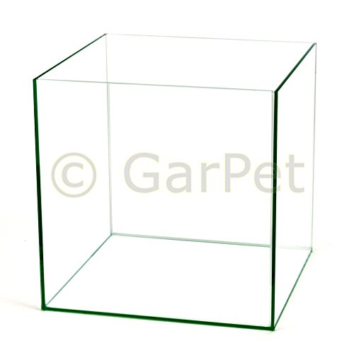 Würfel Aquarium 30x30x30 35x35x35 40x40x40 Becken Glasbecken 30 35 40 (35x35x35 cm)