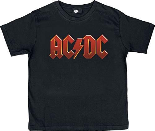 t-shirt enfant Rock ACDC AC/DC logo 8 ans