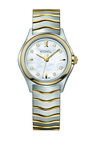 EBEL Damen-Armbanduhr EBEL WAVE LADY Analog Quarz Edelstahl 1216197