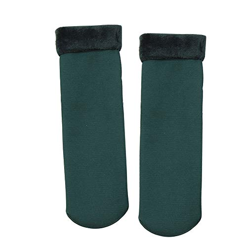 Yiwencult Damen Socken grün grün Einheitsgröße