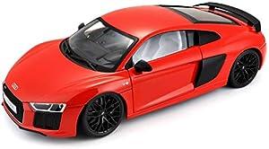 Maisto - Audi R8 V10 Plus en escala 1/18 (38135), surtido: colores aleatorios