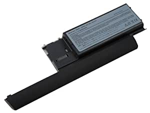 Haute capacité 6600mAh batterie d'ordinateur portable pour Notebook Dell Latitude D620 D630 D631 Precision M230 compatible avec 310-9080 312-0386 451-10299 NT379 RC126 TD117 312-0383 312-0653 JD634 PC764 RD301 TD175 312-0384 451-10298 JD648 PD685 TC030 UD088. De e-port24®